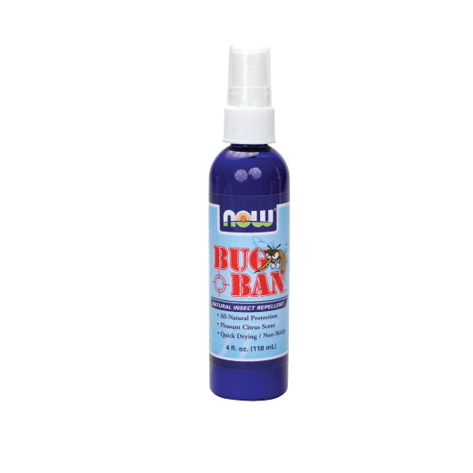 NOW Bug Ban Spray 4 fl.oz