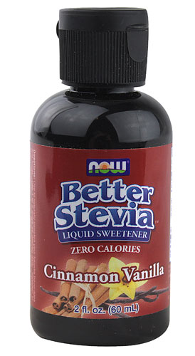 Better Stevia Liquid Sweetener Cinnamon Vanilla 2 fl.oz