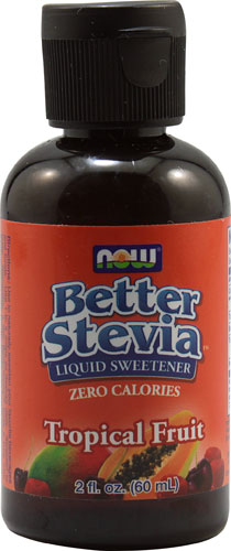 Better Stevia Liquid Sweetener Tropical Fruit 2 fl.oz