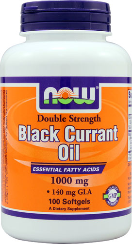 Black Currant Oil (1,000mg) 100 sgels