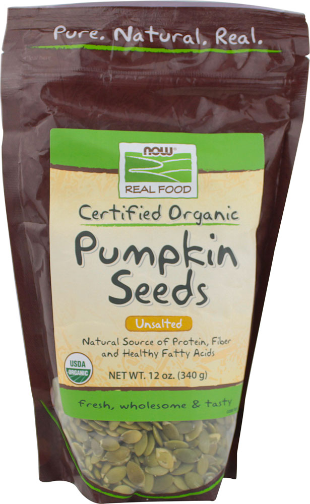 Certified Organic Pumpkin Seeds - Unsalted Unsalted 12 oz