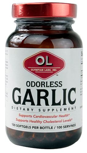 Garlic - Odorless 100 sgels