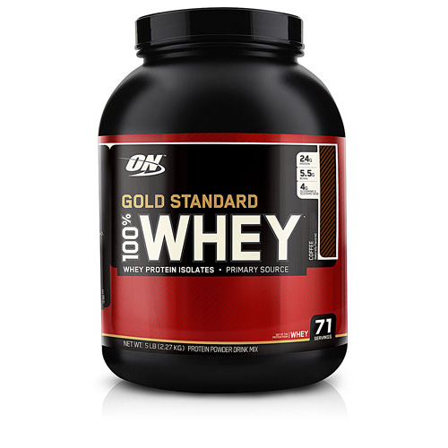 100% Whey Protein - Gold Standard Coffee 5 lbs - astronutrition.com