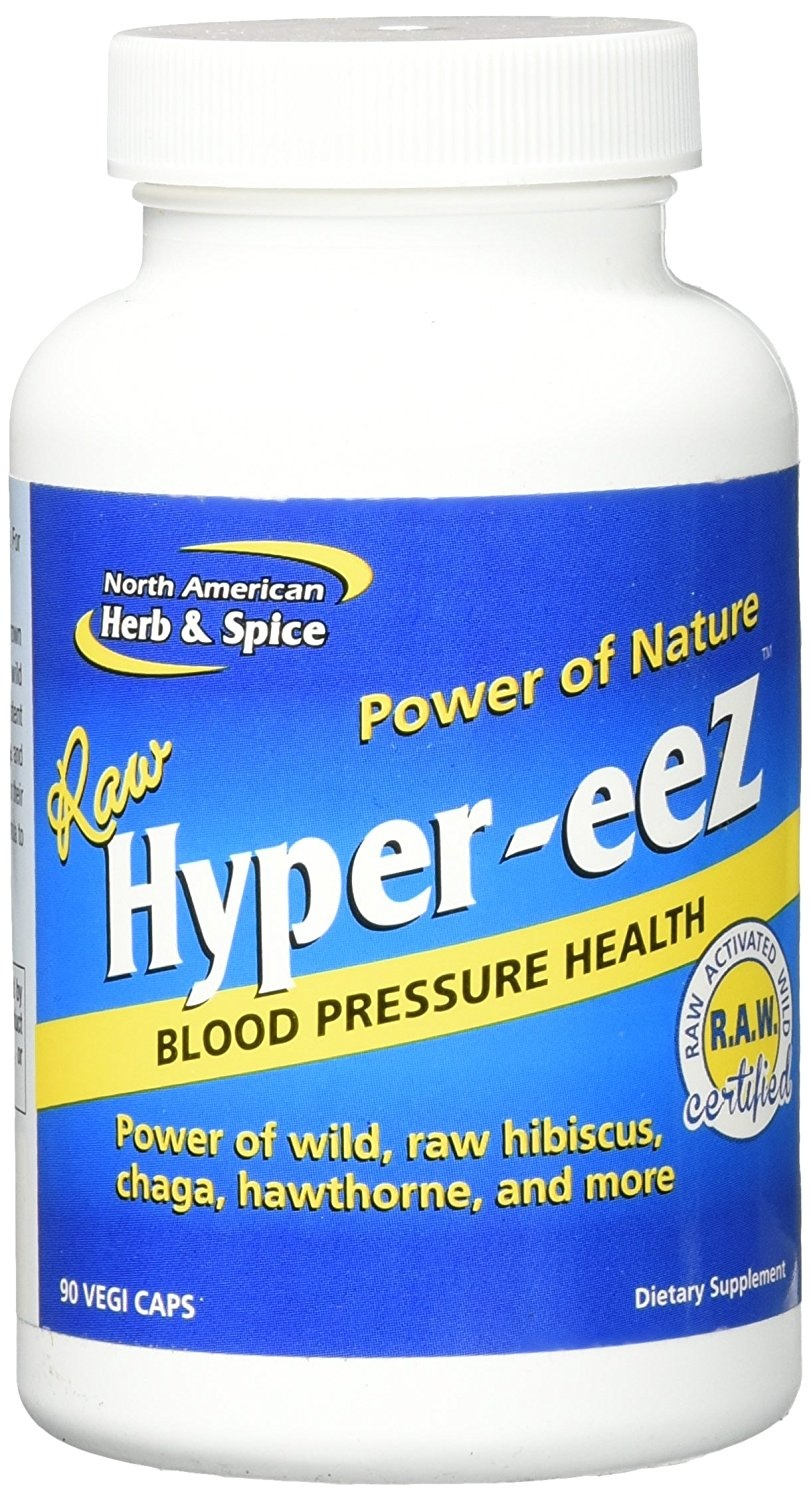 North American Herb & Spice Hyper-Eez - Blood Pressure Health 90 vcaps