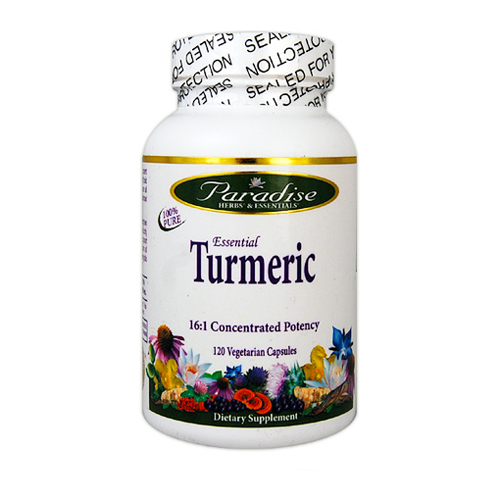 Paradise Herbs Essential Turmeric 120 vcaps