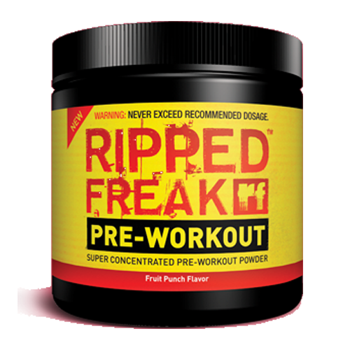 PharmaFreak Ripped Freak Pre-Workout (Fruit Punch) - 200 Grams