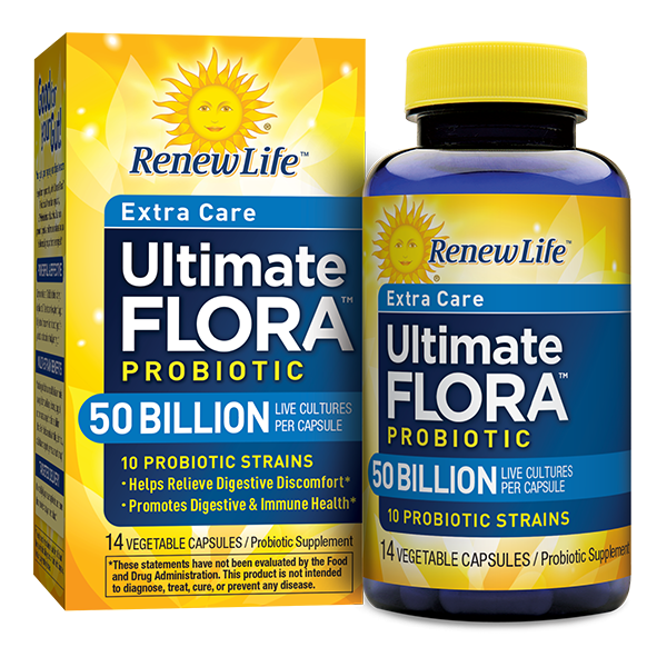 RENEW LIFE Ultimate Flora RTS - 50 Billion 30 vcaps