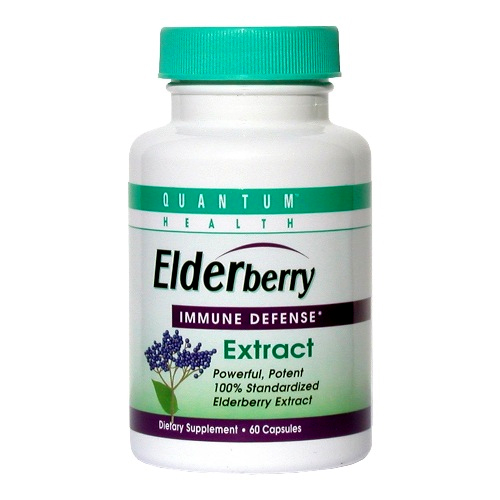 Quantum Elderberry Extract - 60 caps