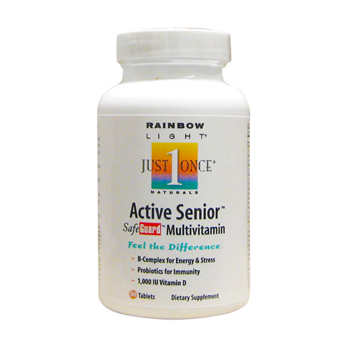Rainbow Light Just Once - Active One Senior Multi 30 tabs