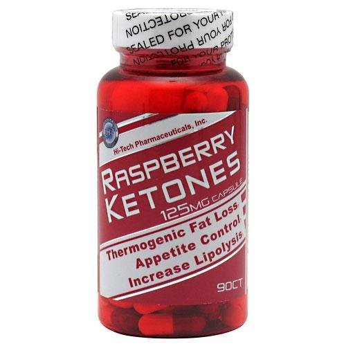 Hi-tech Pharmaceuticals Raspberry Ketones (125 mg) - 90 Capsules - Astronutrition
