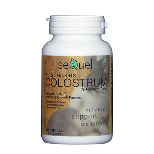 Sequel Colostrum (200mg) - 90 Lozenges - Astronutrition