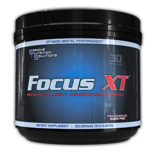 SNS Focus XT - 30 Servings (Pink Lemonade)