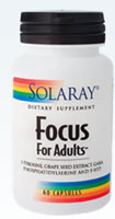 Focus For Adults 60 caps