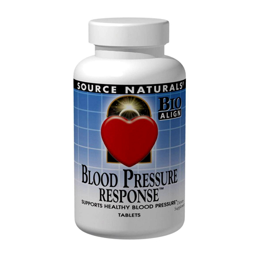 Source Naturals Blood Pressure Response - 120 tabs