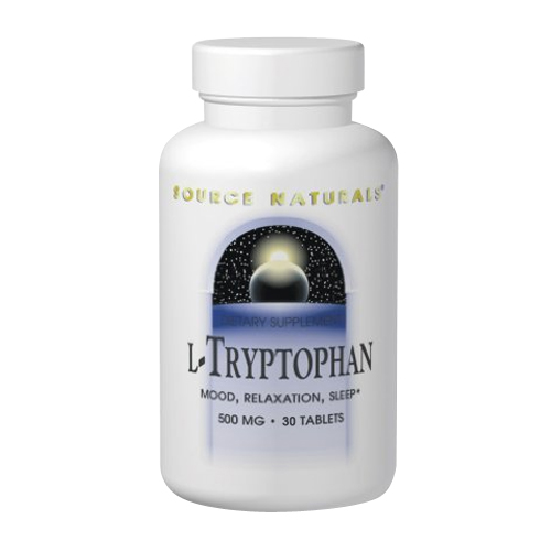 Source Naturals L-Tryptophan - 500 mg 30 tabs