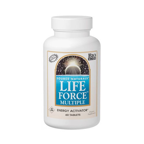 Source Naturals Life Force Multiple (Iron-Free) - 60 tabs