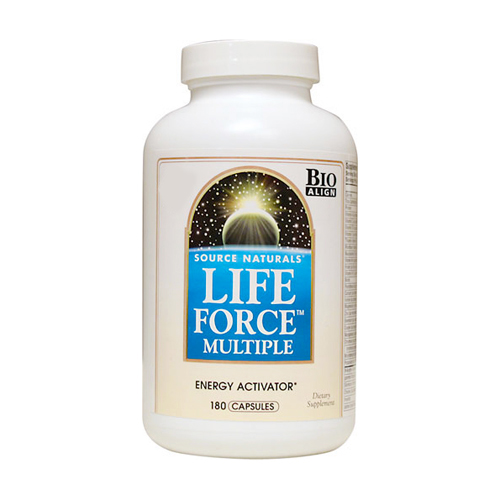 Source Naturals Life Force Multiple with Iron - 180 caps