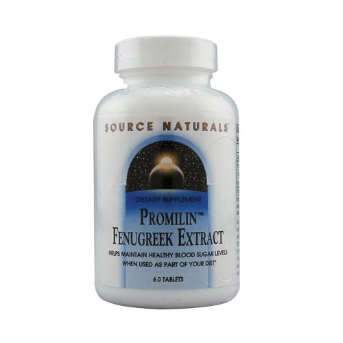 Source Naturals Promilin Fenugreek Extract - 60 tabs