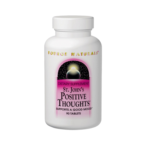 Source Naturals St. John's Positive Thoughts - 90 tabs