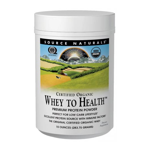 Source Naturals Whey to Health - 10 oz