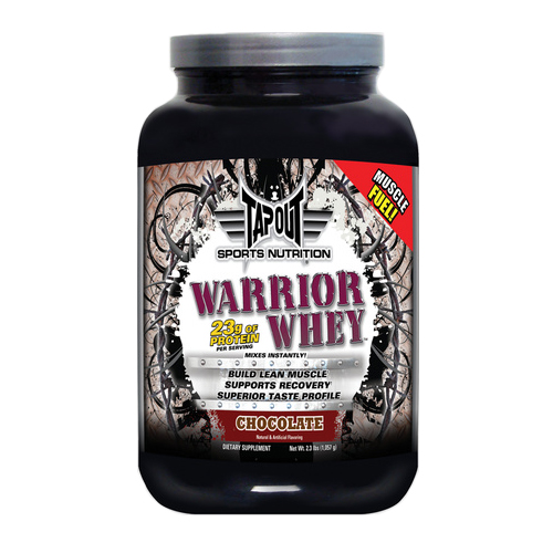 Tapout Warrior Whey Chocolate - 2.3 lbs