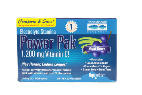 Electrolyte Stamina Power Pak Acai Berry 32 pckts