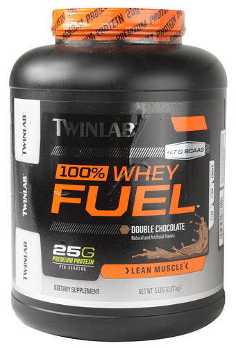 100% Whey Fuel - Lean Muscle Double Chocolate 5 lbs