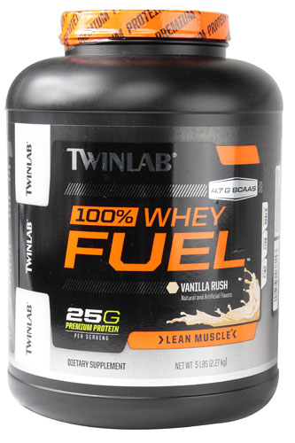 100% Whey Fuel - Lean Muscle Vanilla Rush 5 lbs