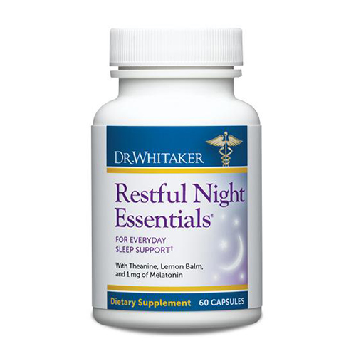 Dr. Whitaker Restful Night Essentials - 60 Capsules - Astronutrition.com